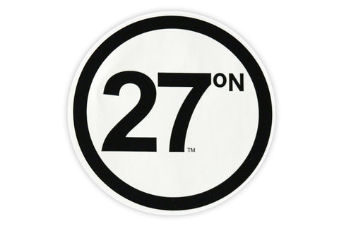 27 North Sticker - Classic