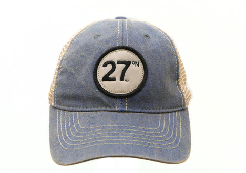 27 North USA Legacy Trucker Hat , Clothing - 27° North USA, 27 North USA  - 4