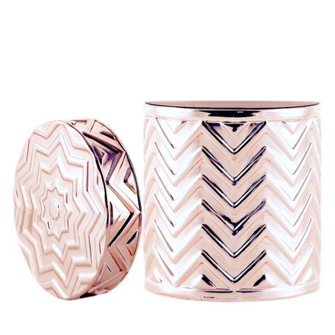 Chevron - Rose Gold