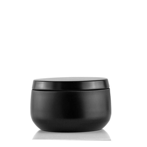 Candle Tin - Matte Black