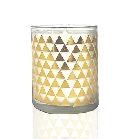 Gold Leaf Triangle Tumbler
