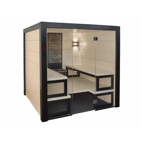 Saunas Solide Indoor Sauna with Virta Heater