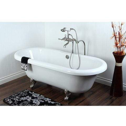 Double Ended clawfoot Freestanding/Clawfoot Tub