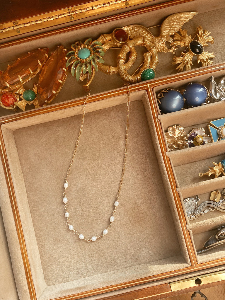 Del Mar Necklace (Pearls)