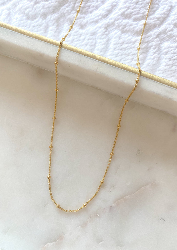Satellite Necklace (Gold)