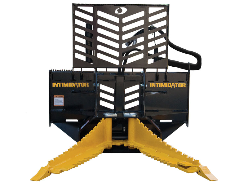 INTIMIDATOR PART ID: 12200T SKID-STEER QUICK ATTACH W/SIDE SAW TEETH JAWS
