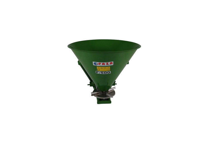 500 GREEN METAL SPREADER