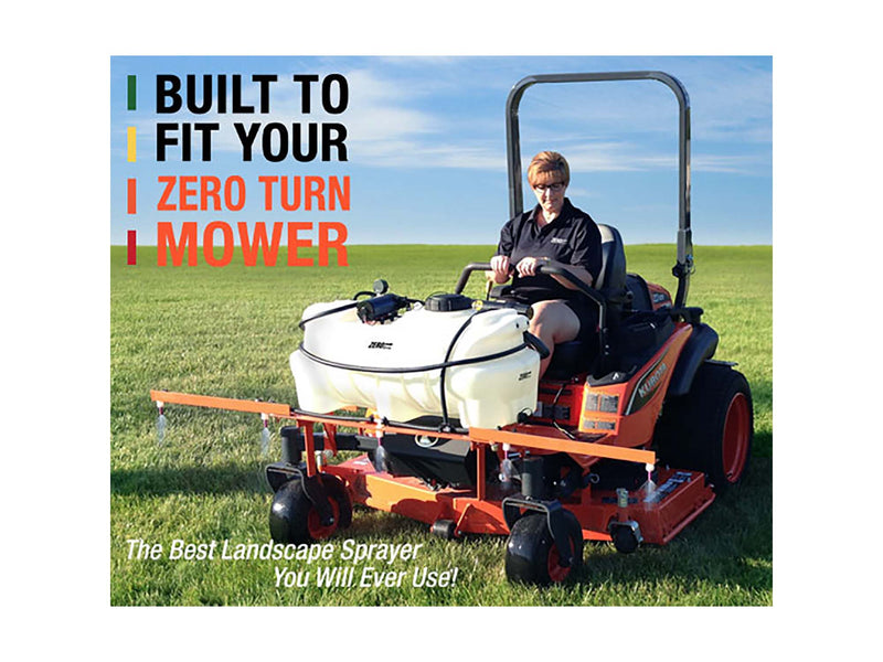 KUBOTA ZERO TURN SPRAYER - ZD1211