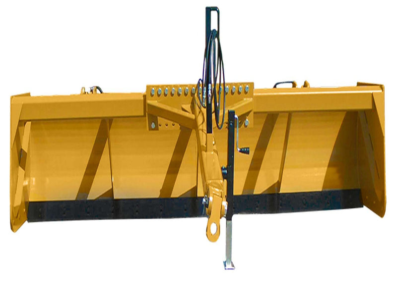 12' HD DRAG SCRAPER W/TILT WALKING BEAM AXLE