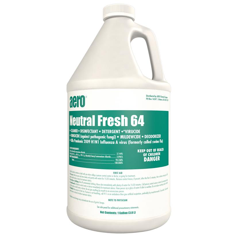 Neutral Fresh 64 Hospital Grade Disinfectant - Cleaning Ideas