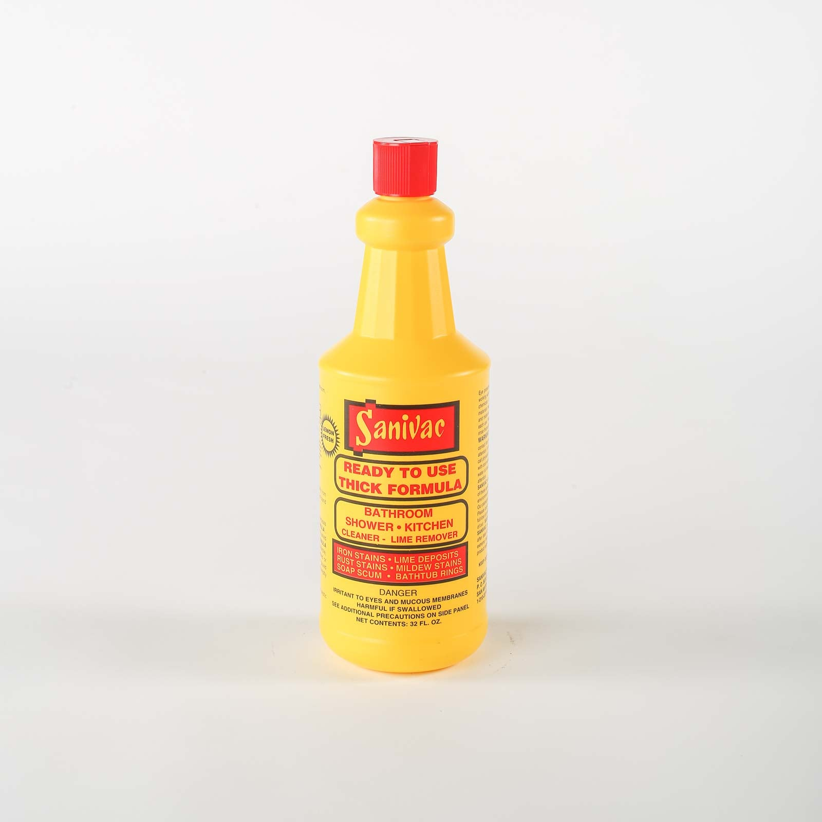 Sanivac Thick Formula Lime Remover - Cleaning Ideas