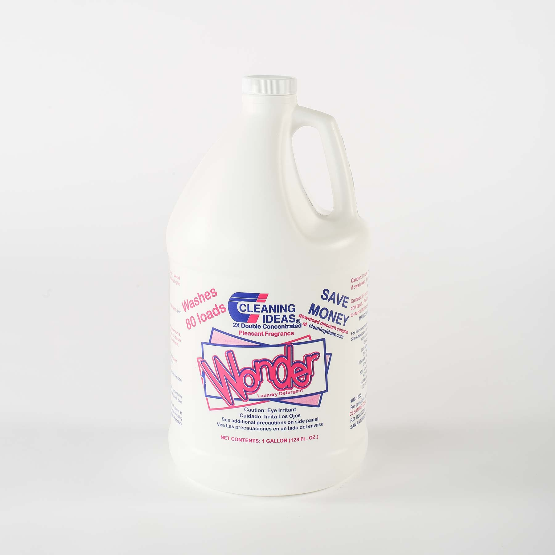 Wonder Laundry Detergent - Cleaning Ideas