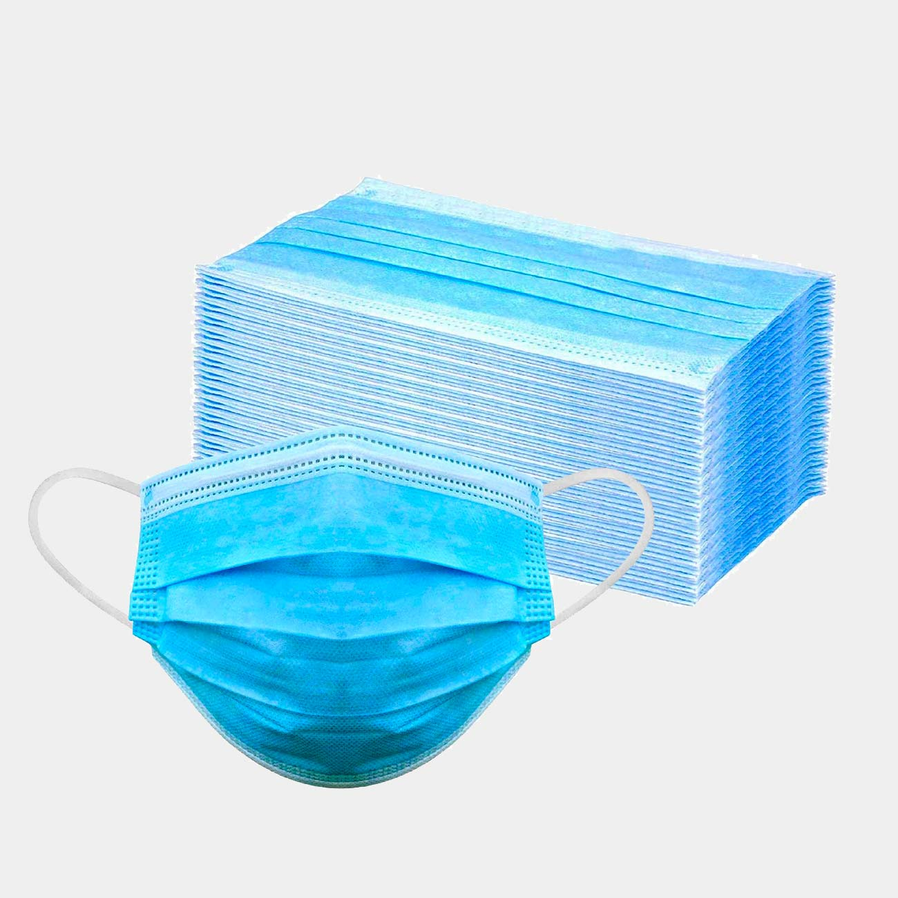 50 per box Disposable Filter Mask 3 Ply - Cleaning Ideas