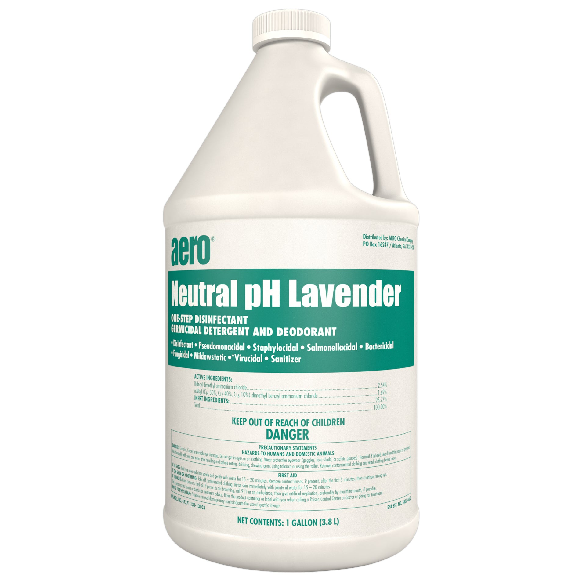 Lavender-Quat Concentrated Liquid Disinfectant gallons