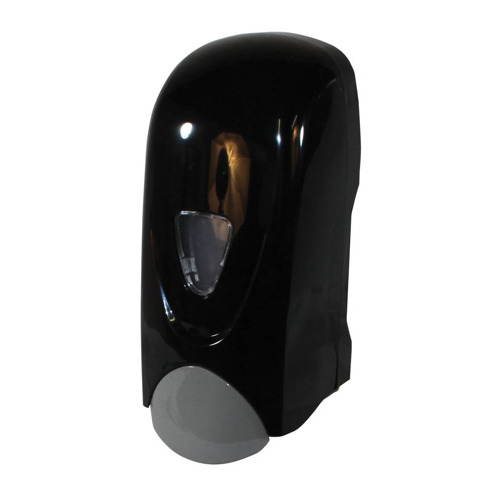 Dispenser w/liquid bottle black Private Label