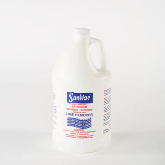 Sanivac Lime Remover (gallon) - Cleaning Ideas