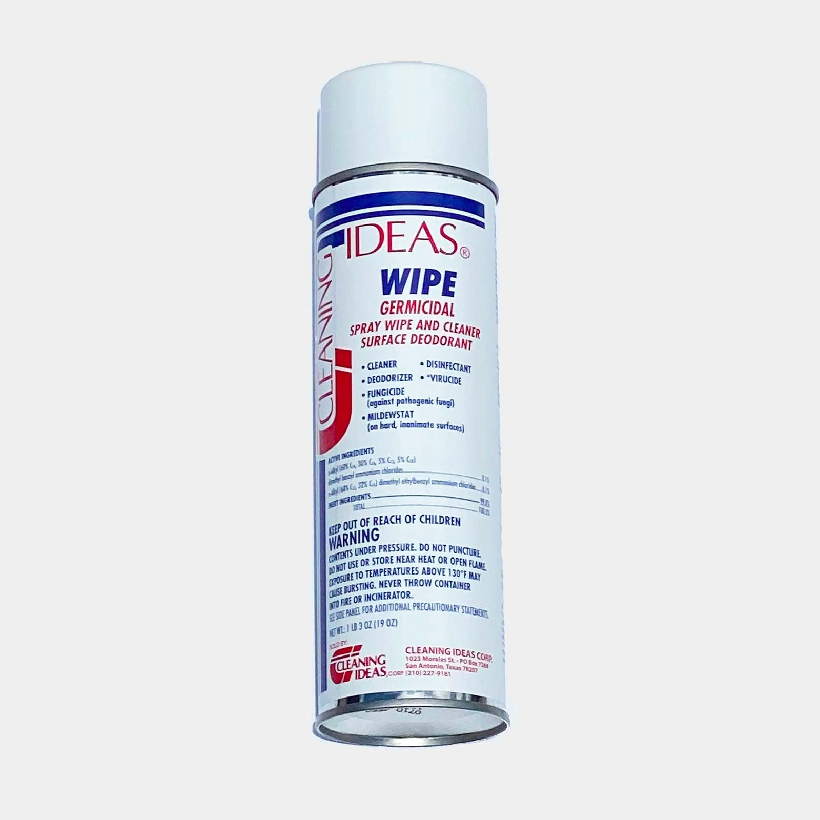 Wipe A/B Foaming Disinfectant Spray - Cleaning Ideas
