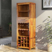 Load image into Gallery viewer, Tall Boy Solid Wood Bar Cabinet