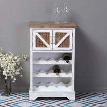 Load image into Gallery viewer, Swan Rustic Bar Cabinet In Distressed Finish