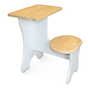 Hexhan 15.75 W Writing Desk and Chair Set