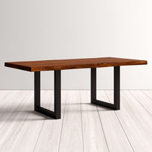 Load image into Gallery viewer, CONTEMPORARY INDUSTRIAL STYLE DINING TABLE