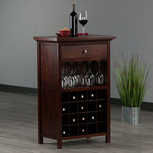 Load image into Gallery viewer, Rachel Bar Cabinet In Walnut Finish