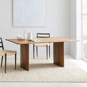 ZORB SOLID WOOD DINING TABLE