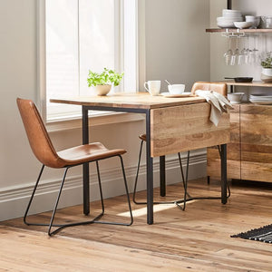 DROP LEAF FOUR SEATER DINING TABLE