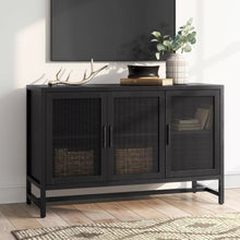 Load image into Gallery viewer, VICTORY SIDEBOARD IN BLACK STAINED FINISH