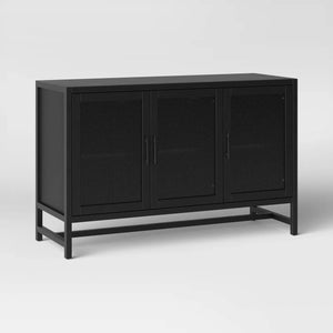 VICTORY SIDEBOARD IN BLACK STAINED FINISH