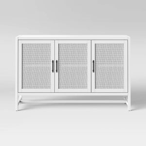 VICTORY SIDEBOARD IN WHITE FINISH