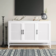 Load image into Gallery viewer, VICTORY SIDEBOARD IN WHITE FINISH