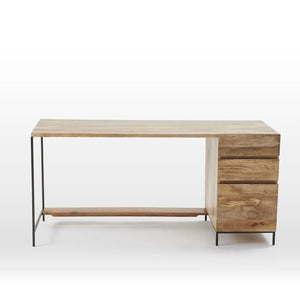 Oliver Three Drawer Study Desk