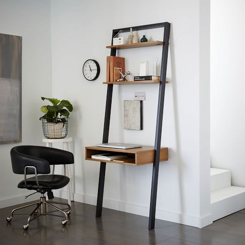 Ladder Shelf Study Desk