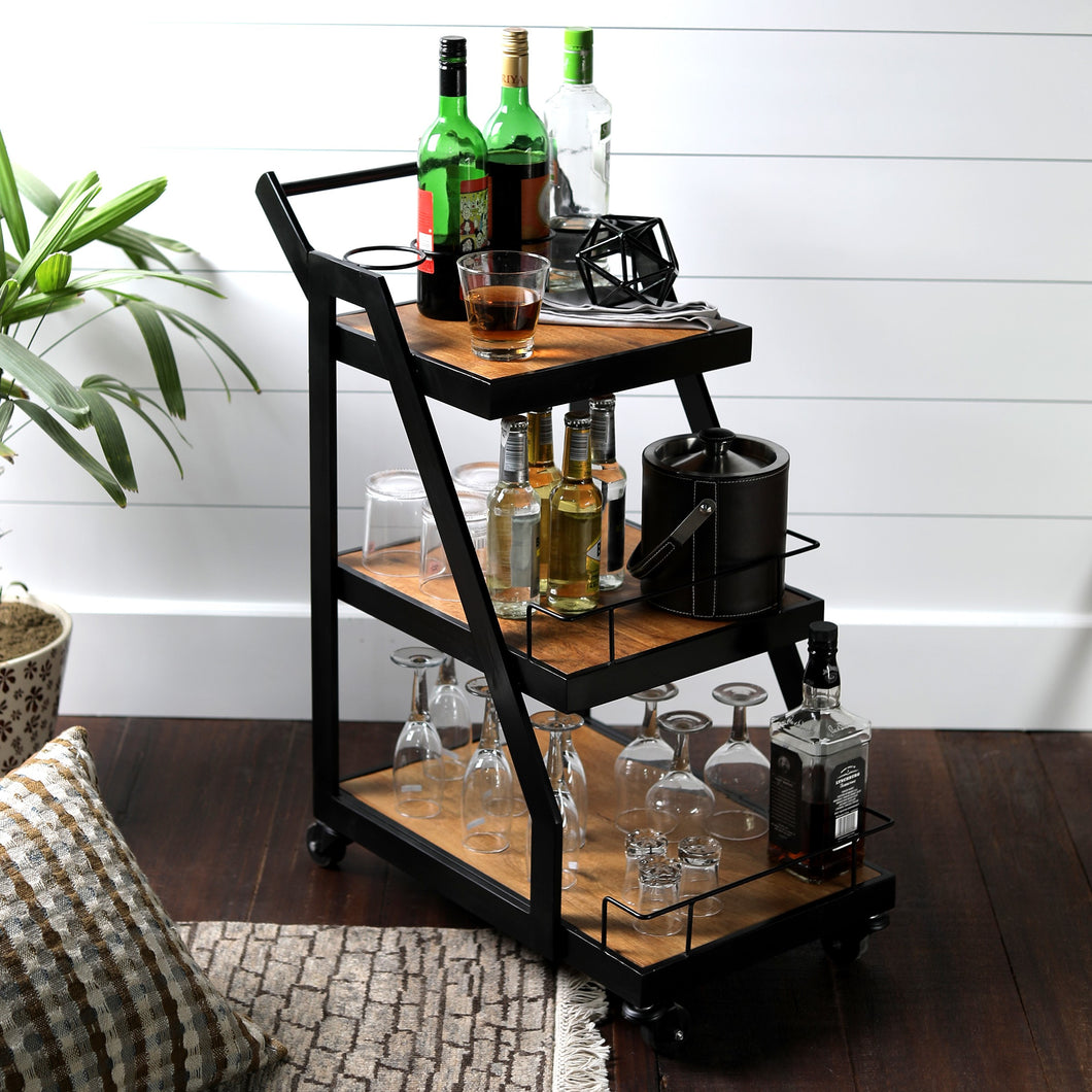 Warehouse Bar Trolley
