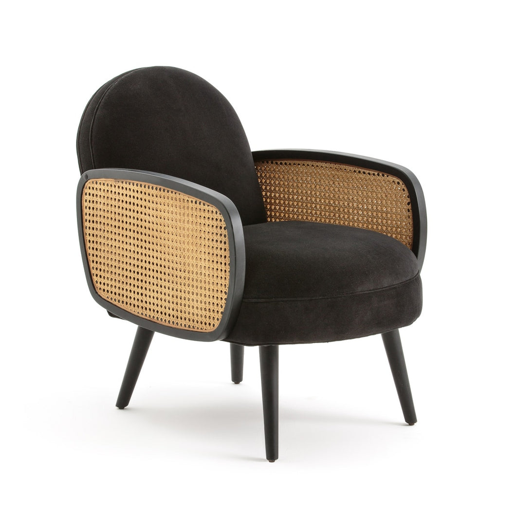 Miranda Arm Chair In Black