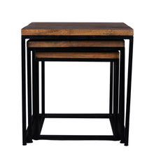 Load image into Gallery viewer, Industrial Style Nesting Table