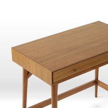 Load image into Gallery viewer, Lewis Mid Century Mini Study Table In Brown