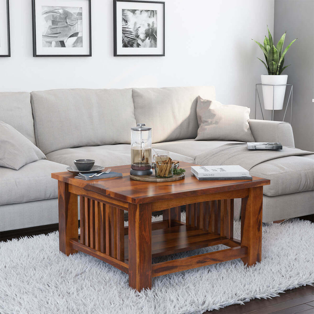 Slated Coffee Table