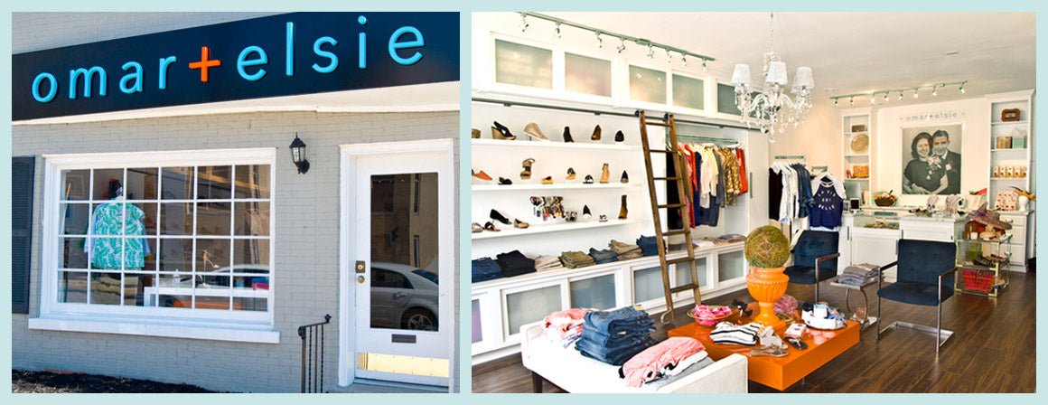 omar + elsie - Lexington, KY women's fashion and designer shoes boutique