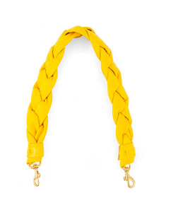 Shoulder Strap- Nappa Yellow