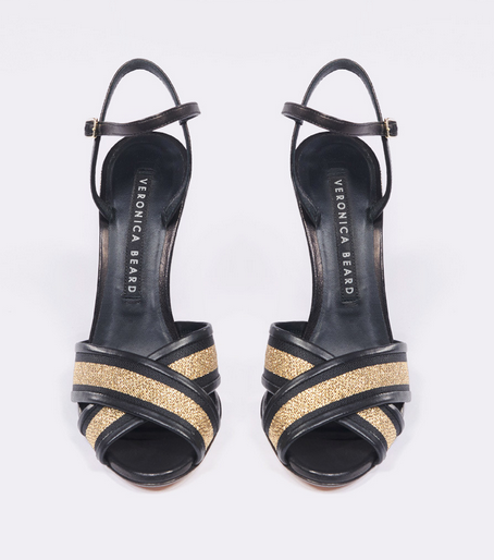 Olympia Sandal Black/Gold