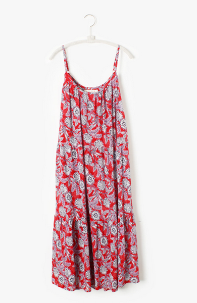Tienery Dress Sun Red
