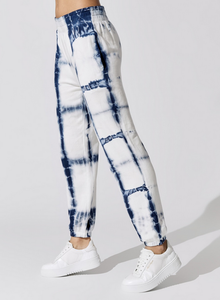 Ruched waist sweatpant