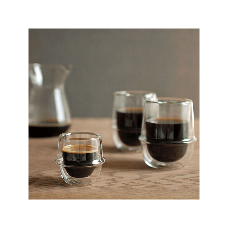 Kinto Kronos double-walled glasses