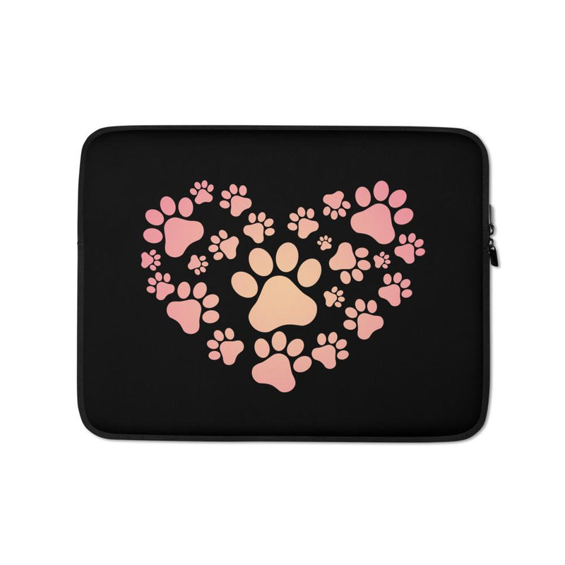 Hearted PAWS Laptop Sleeve