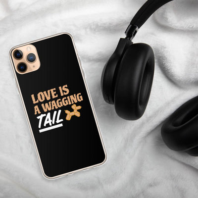 Love Is A Wagging Tail iPhone Case