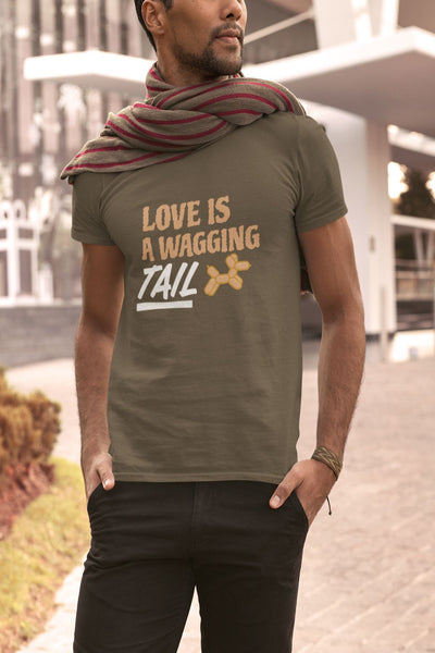 Love Is A Wagging Tail Men's T-Shirt
