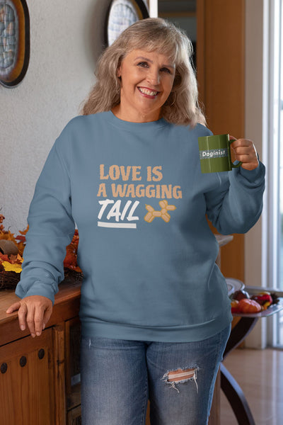Love Is A Wagging Tail Women's Sweatshirt