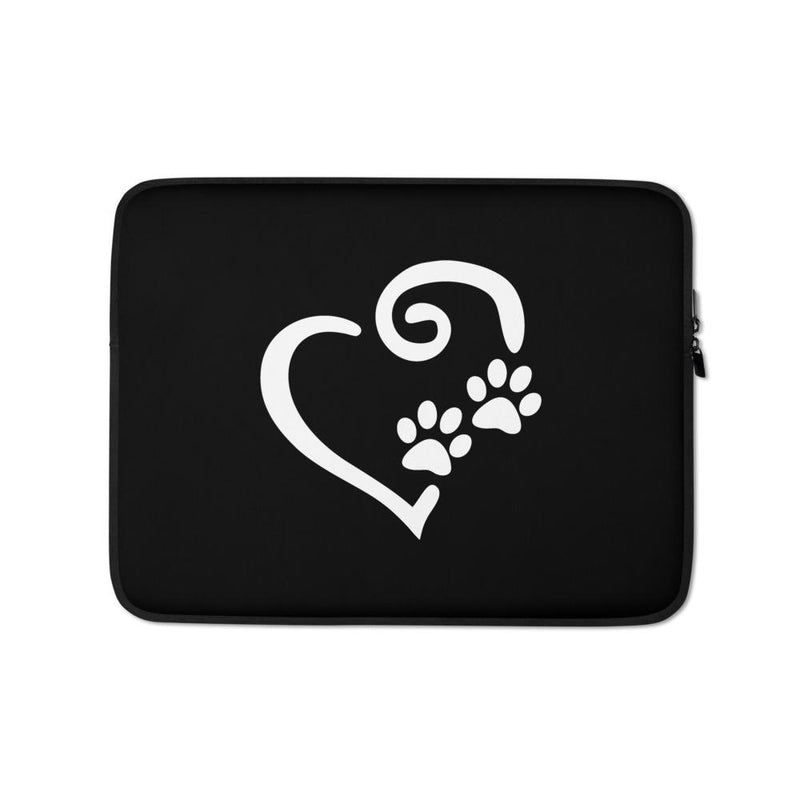 Printed In Our Heart Laptop Sleeve